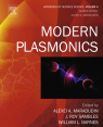 Modern Plasmonics - Cover